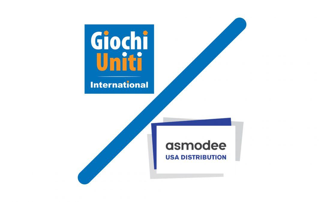 Giochi Uniti International to be distributed by Asmodee USA