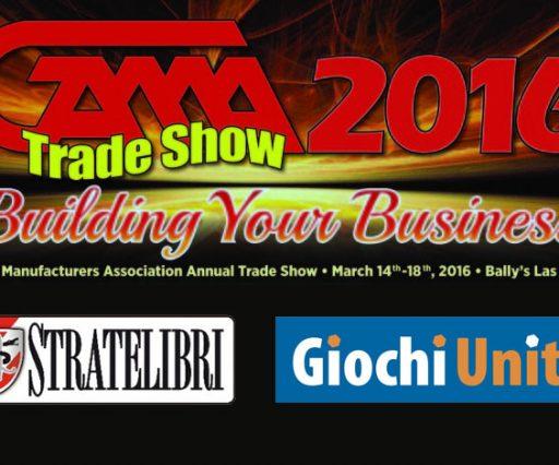 GAMA Trade Show Las Vegas 2016