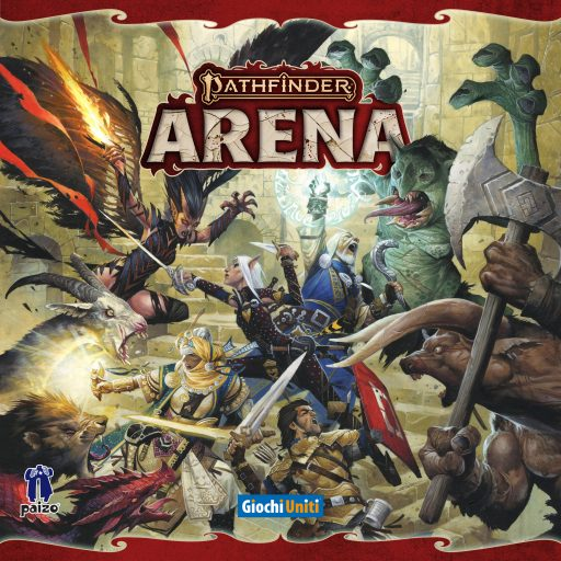 Pathfinder Arena Update: Cover and New Logo