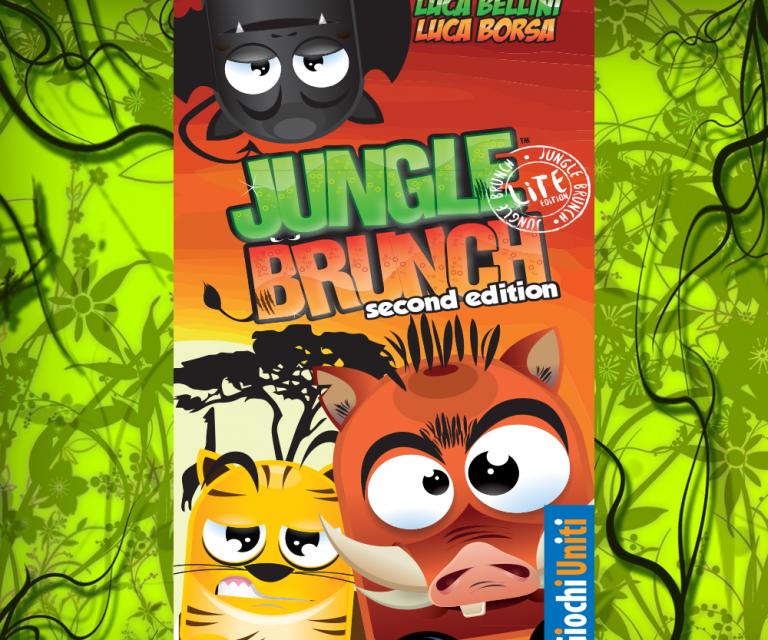 Jungle Brunch promo card