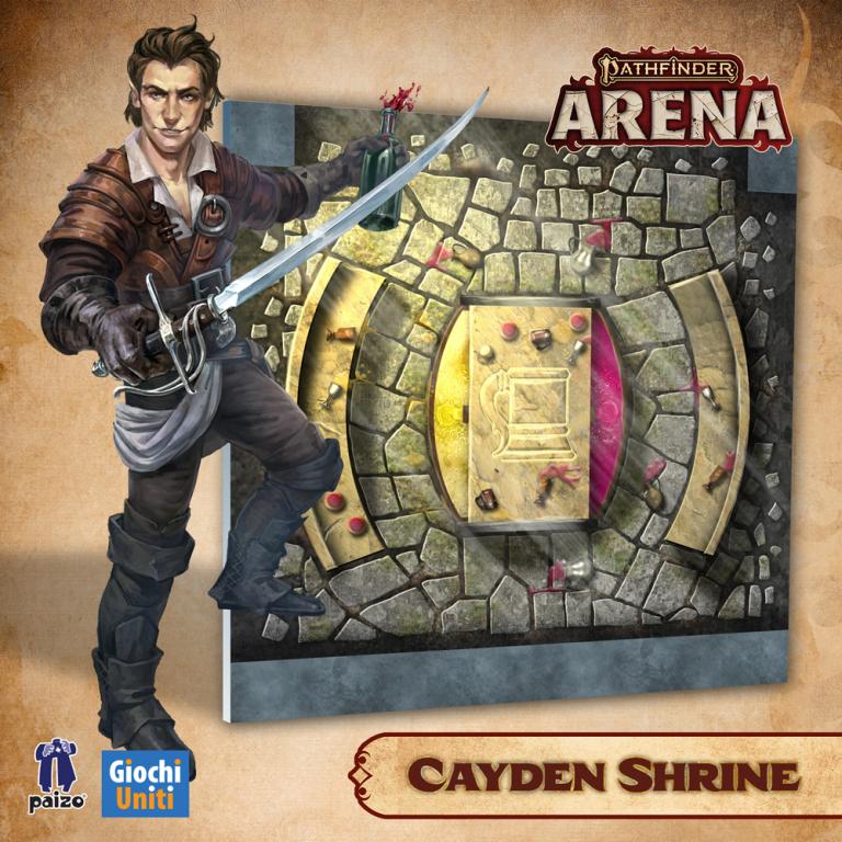 Pathfinder Arena Update: Shrine Tiles