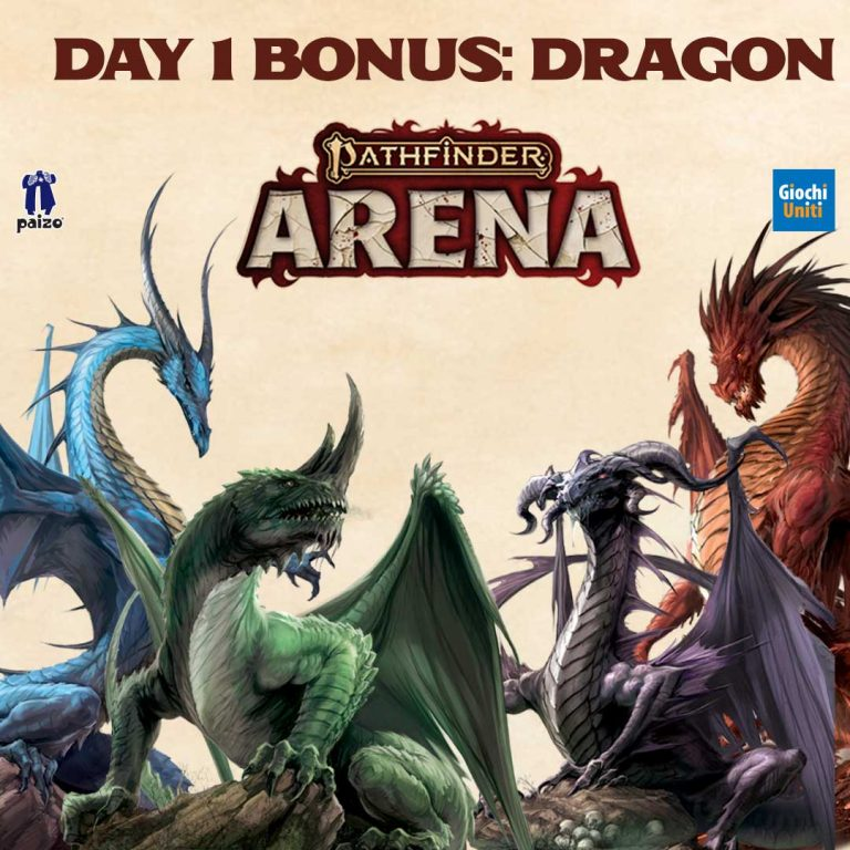 Pathfinder Arena Update: Day1 Bonus and Monsters' Cards