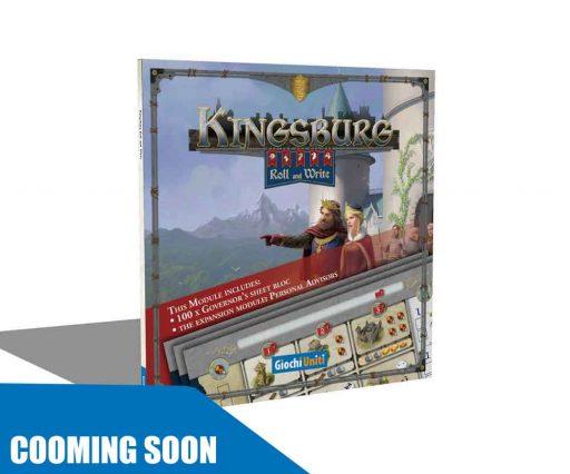 Kingsburg Roll&Write Module