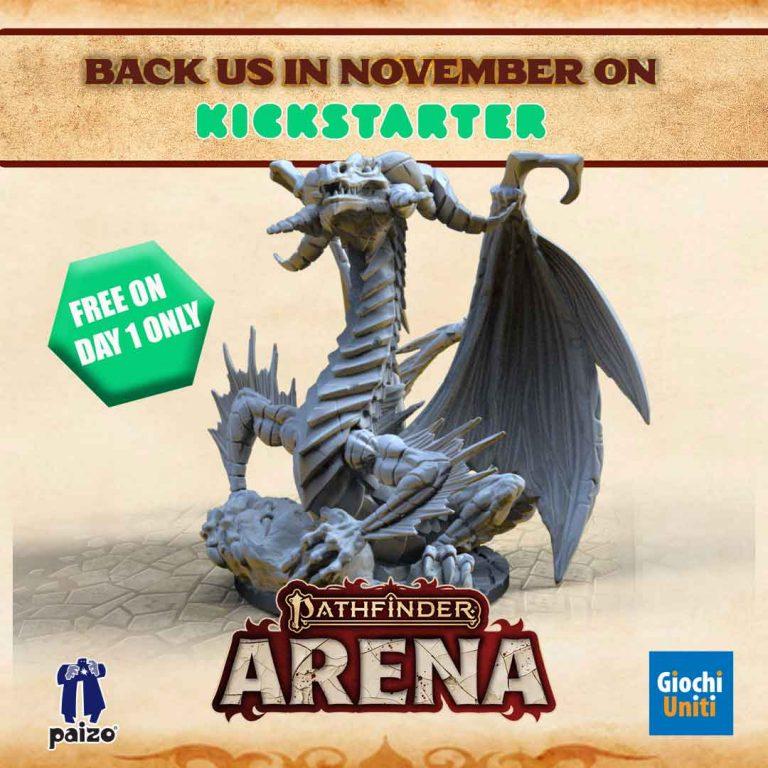 Pathfinder Arena on Kickstarter