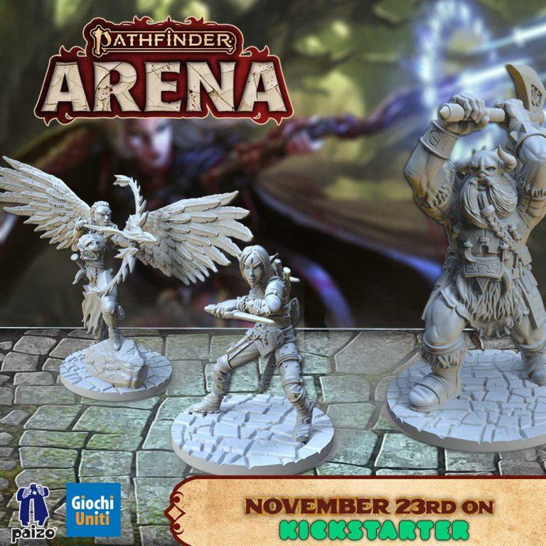 Pathfinder Arena Day 1 on Kickstarter